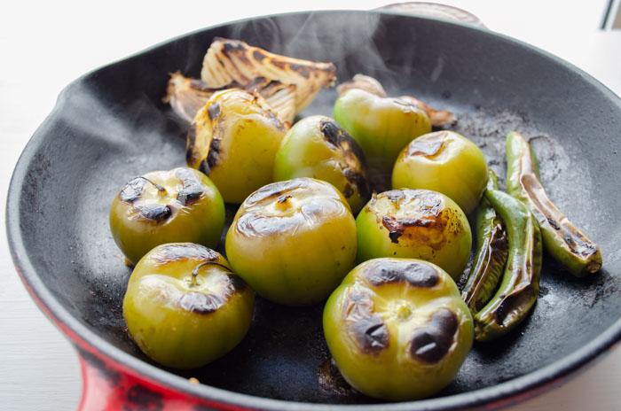 salsa verde tomatillo